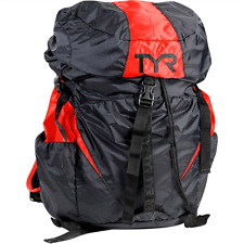 TYR Convoy Rucksack Backpack, Black & Red