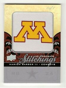 Marion-Barber-III-Dallas-Cowboys-2008-UD-Premier-Stitchings-Patch-Card-1-1
