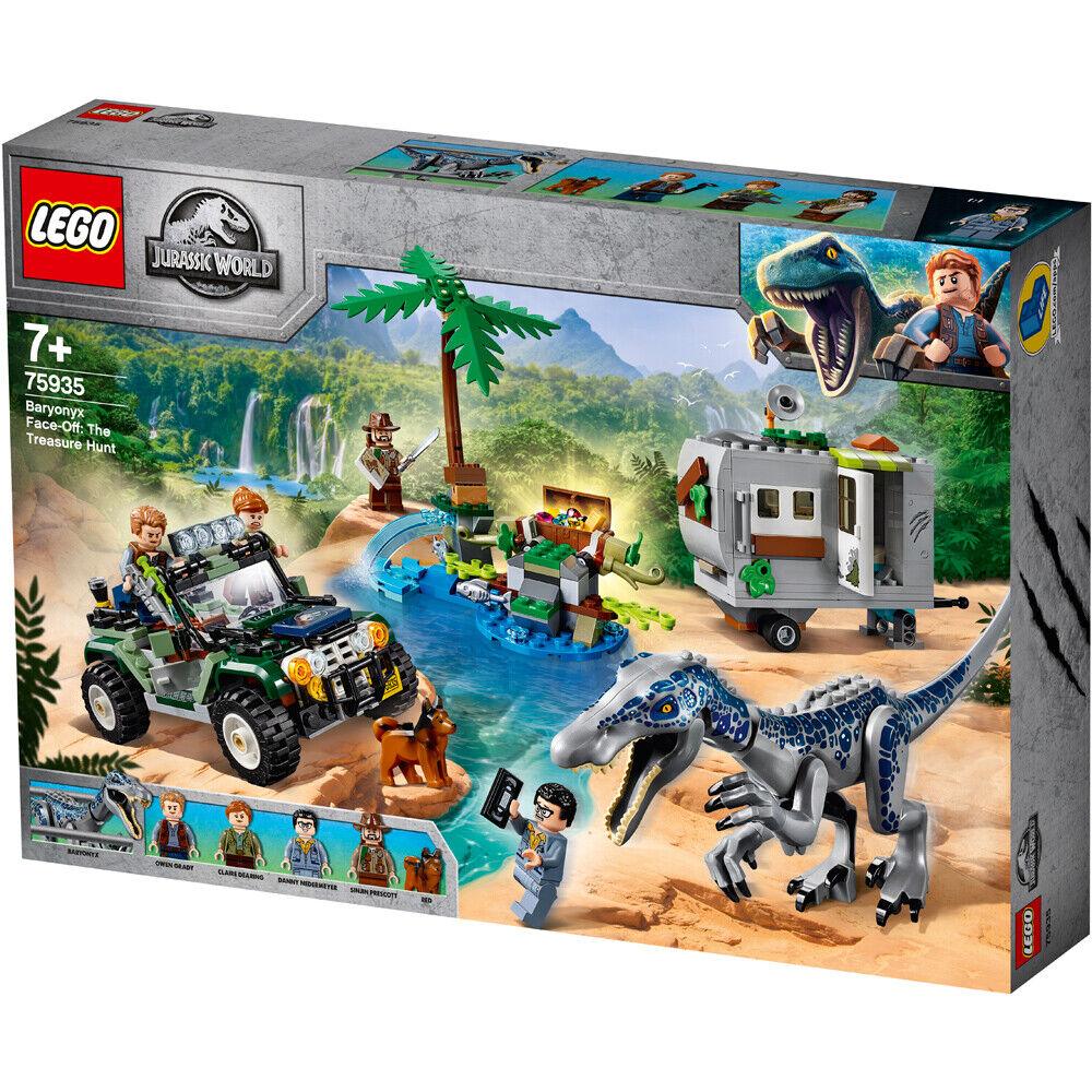LEGO 75935 Baryonyx Face-Off  The Treasure Hunt  Jurassic World  qualité de première classe