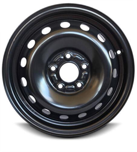 """Steel Wheel Rim 15 Inch 12-18 Ford Focus Black Full-Size 5 Lug 4.25/"""" New"""