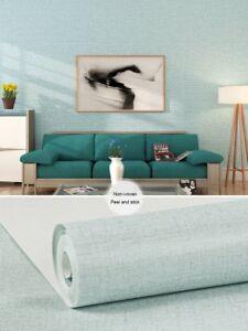 Self Adhesive Linen Texture Contact Paper Craft Non Woven Grasscloth