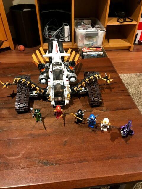 LEGO Ninjago Ultra Sonic Raider (9449) for sale online   eBay