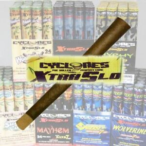 Cyclone-Xtra-Slo-Cigar-Wraps-with-Dank-7-Wooden-Tip-Assorted-Flavour