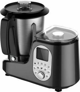 Détails sur Robot da Cucina Multifunzione con accessori per cottura vapore.  Simile al bimby