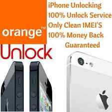 UK EE Orange iPhone 6 6+ Factory Unlock 100% Permanent Unlocking Only Clean IMEI