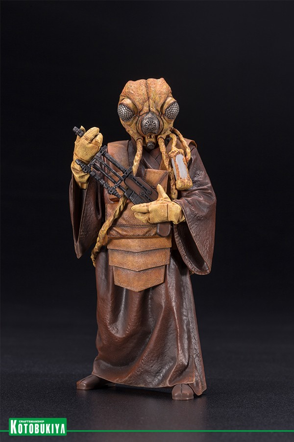 KOTOBUKIYA   ARTFX+ STAR WARS BOUNTY HUNTER ZUCKUSS 1 10 SCALE STATUE IN STOCK