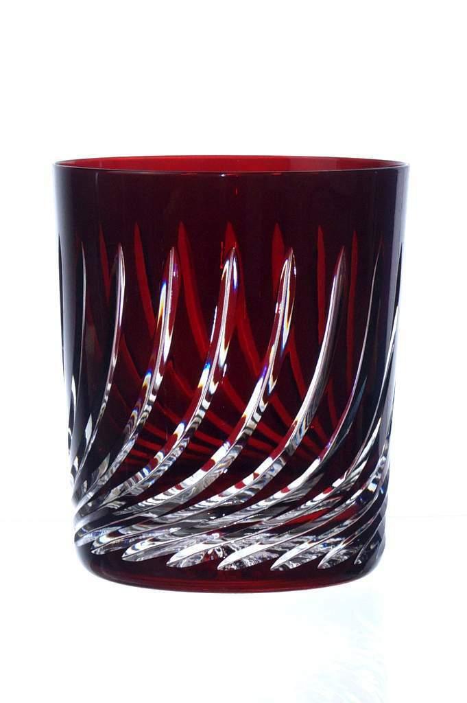 Nouveau Set 6 CRISTAL DE COULEUR WHISKY VERRES CRISTAL verres verres whisky