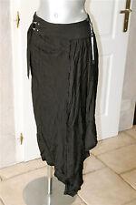 skirt jupe portefeuille asymetrique noire  HIGH USE taille 38 NEUVE ÉTIQUETTE