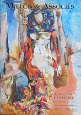 Catalogue de Vente Atelier Christian Chenard et Genevieve Line Jagot