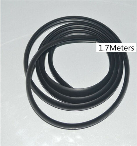 1.7M Rubber Sealed Strips Installed Under Front Windshield Wiper Plastic Panel