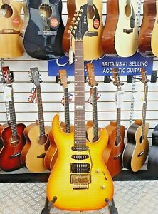 Shine-SIL-50VS-Super-Strat-HSS-Electric-Guitar-with-Licensed-Floyd-Rose-Tremolo