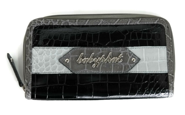 Authentic Baby Phat Womens Bifold Wallet Black BP6434-A01-BP