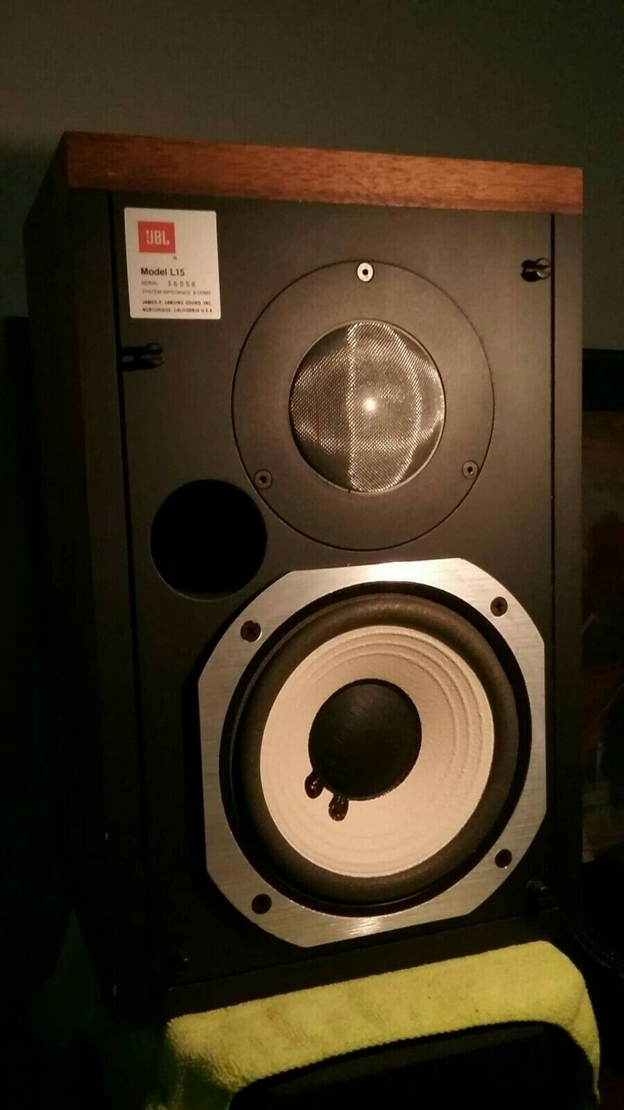 s l1600 - JBL L15  Classic Monitor speakers - All Original drivers in Perfect condition !