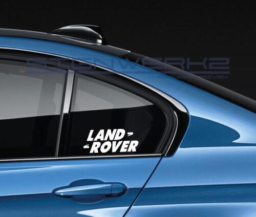 Land Rover Decal Sticker LR4 Range Rover Discovery Evoque SVR Velar Pair