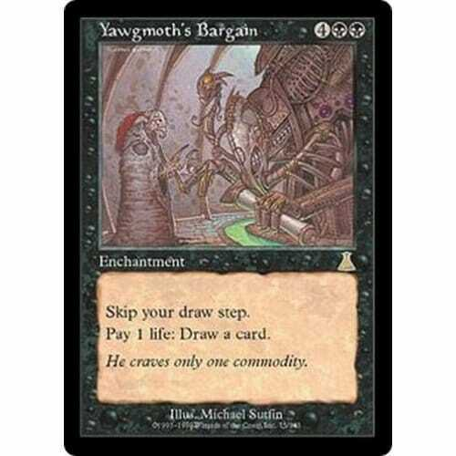 Good Yawgmoth/'s Bargain MTG URZA/'S DESTINY Condition
