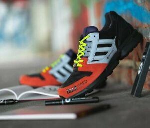 galope compensación Establecimiento  Adidas Originals Irak Zx 8000 GTX Hombre Negro Rojo Gris Zapatillas   eBay