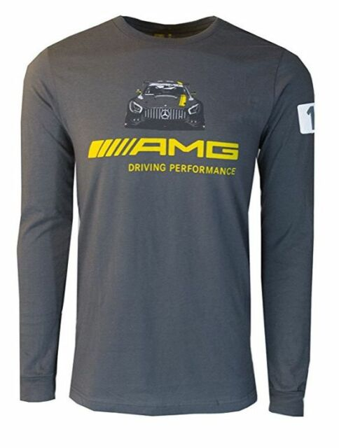 Mercedes Benz Men's AMG Graphic Long Sleeve T-Shirt