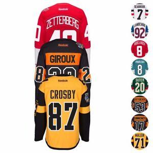 2015-2017-NHL-Reebok-Stadium-Series-Premier-Team-Player-Jersey-Collection-Men-039-s