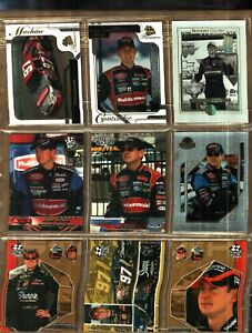 LOT-OF-9-DIFFERENT-YEARS-amp-BRANDS-KURT-BUSCH-SOME-ARE-PARALLEL-CARDS-40