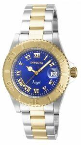 Invicta-14363-Damen-Angel-Dark-Blue-Dial-Zwei-Ton-Bracelet-Watch