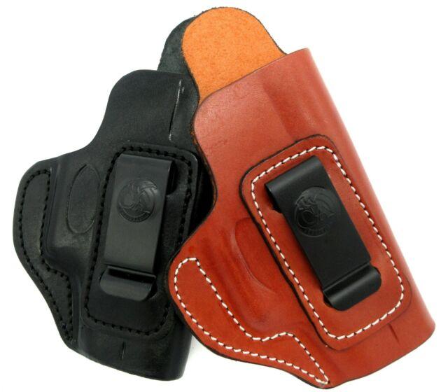 CEBECI RH Brown Black Leather IWB AIWB Concealment Holster - Choose Gun &  Color