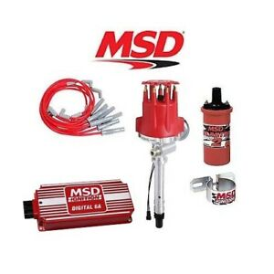 msd 90281 ignition kit digital 6a distributor wires coil bbc 1972 Ford Mustang Tach Wiring image is loading msd 90281 ignition kit digital 6a distributor wires