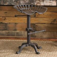 tractor x iron p cast seat s style rustic bar stool industrial no vintage reserve