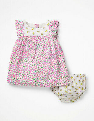Girls Baby floral flower  Dress 100/% Cotton 18//24m 2//3 3//4 years