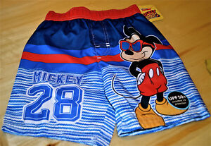 136e5a1cce364 Image is loading NEW-DISNEY-MICKEY-MOUSE-TODDLER-BOYS-SWIM-TRUNKS-