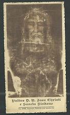 Andachtsbild artiken de la Santa Faz estampa santino holy card