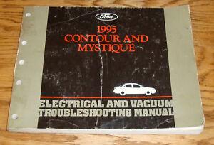 s l300 1995 ford contour mercury mystique wiring diagram evtm manual 95 ebay