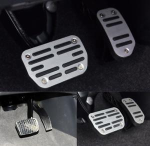 2PCS Aluminum Alloy Accelerator Pedal Trim For Toyota RAV4 2016 2017 2018