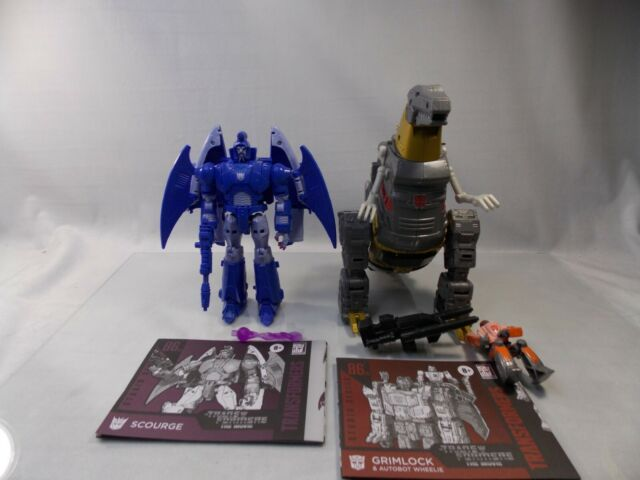 Transformers Studio Series 86 Grimlock Wheelie Scourge Lot Hasbro 2021