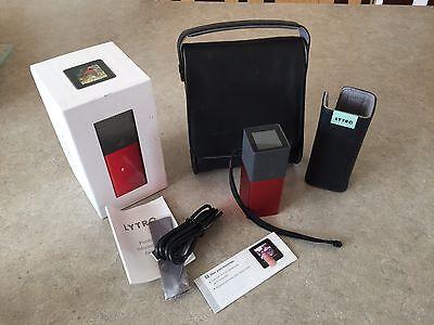 Lytro Light Field Camera, Red Hot, 16 GB