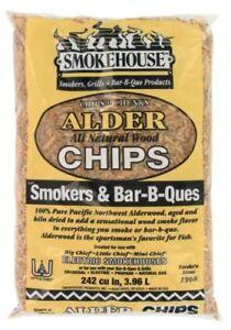 Smokehouse 97800000000 Alder Wood Chips 1 75lb Bag Ebay