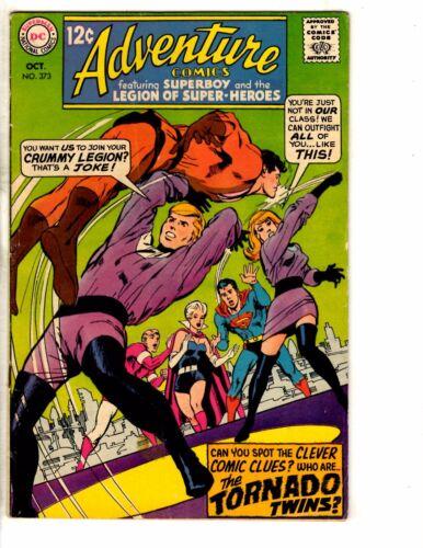 Adventure Comics # 373 FN//VF DC Comic Book Superman Superboy Smallville TW55
