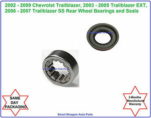 rear wheel bearing seal fit for 2002 2003 2004 2009 chevrolet
