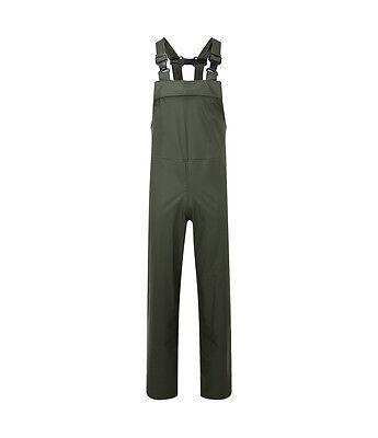 KüHn Mens Fortex Flex Waterproof Green Bib And Brace,breathable,windproof,tearproof Waren Des TäGlichen Bedarfs