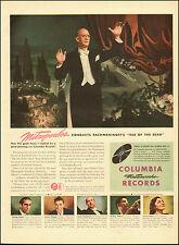 1946 Vintage ad for Columbia Records`Conductor Mitropoulos`Art (061514)