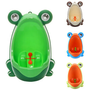 kinder jungen pee toilette frosch training urinal t pfchen f r 8monte bis 6jahre ebay. Black Bedroom Furniture Sets. Home Design Ideas