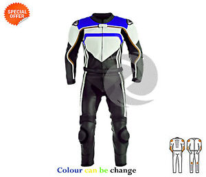 Two-piece-Motorcycle-riding-suit-with-ce-armour-fast-track-racing-leathers-sale
