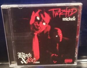 Twiztid - W.I.C.K.E.D. CD Black & Red Edition insane clown posse icp dj clay