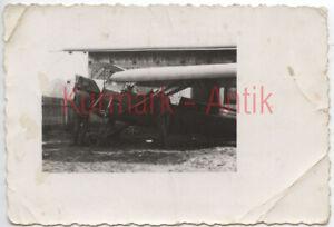 S152-Foto-Wehrmacht-Luftwaffe-Flugzeug-Beute-crash-plane-Polen-Typ