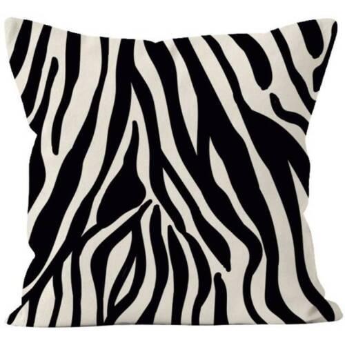 Animal Printed Pillow Case Square Sofa Waist Throw Sofe Cushion Cover Home Decor