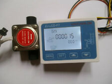 Liquid Fuel Oil Flow Meter With 12 Diesel Gasoline Gear Flow Sensor New