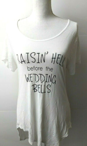 Bride to be shirt top White Brides Raisin Hell  T-