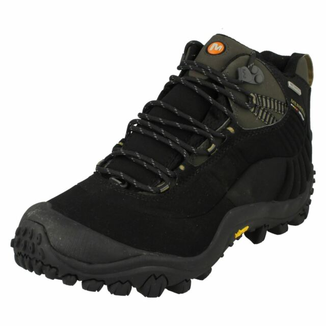 e5630dfc6ca Mens Merrell Casual Waterproof Lace Up Walking Boots Chameleon