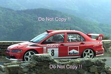 Freddy Loix Mitsubishi Lancer Evo WRC Tour De Corse Rally 2001 Photograph 8