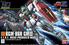 BANDAI HGUC 1/144 RGM-86R GM III Plastic Model Kit Mobile Suit Gundam ZZ Japan