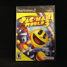 Pac-Man World 3 (Sony PlayStation 2) Brand New